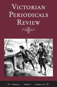 Cover of Victorian Periodicals Review, Volume 52, Number 2, Summer 2020